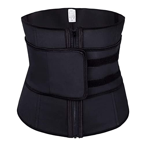 fcc44fc0fa Women s Sports Latex Waist Trainer Corsets Cincher Weight Loss Hourglass  Shaper Thermal Girdle