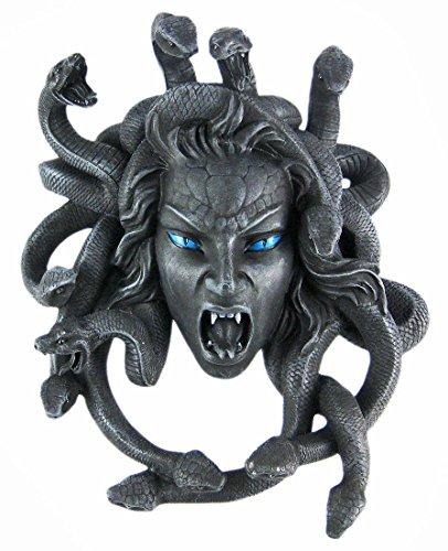 Things2Die4 Gruesome Medusa Wall Hanging Snakes Gorgon 8466