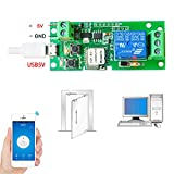 Onyehn SONOFF USB 5V 5V/12V DIY 1 Channel Jog Inching Self-locking WIFI Wireless Smart Home Switch APP Remote Control Module for IOS/Android