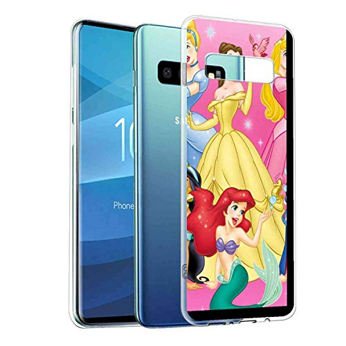 DISNEY COLLECTION Compatible for Galaxy S10e (5.8-Inch) Disney Princess Entertainment Movie