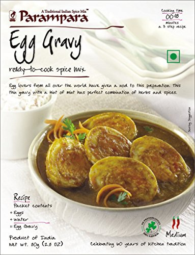 Parampara Egg Curry 80G(pack of 3) by Parampara
