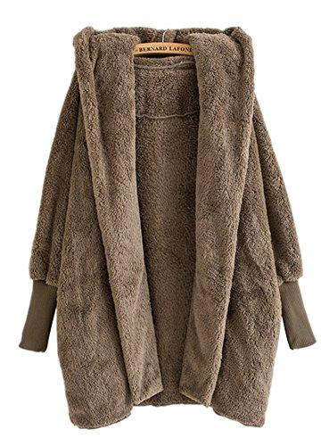 Brown Hooded Fleece - 6
