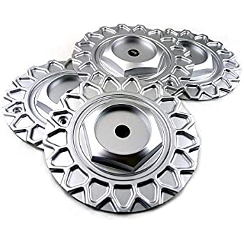 168mm Silver ABS Car Wheel Center Hub Caps Set of 4