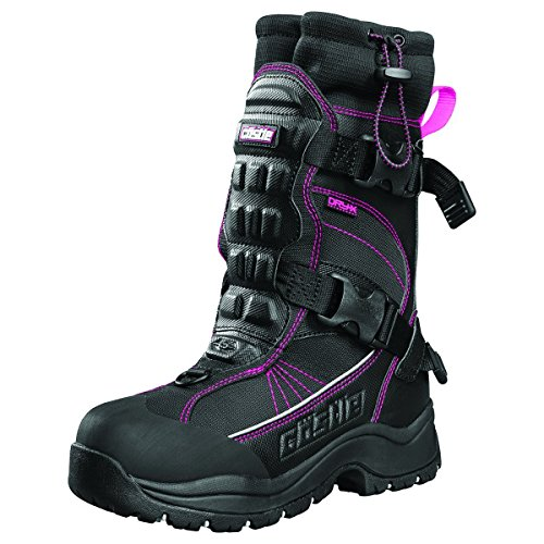 (Castle X Barrier 2 Womens Snowmobile Boot Magenta 8)