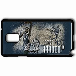 Personalized Samsung Note 4 Cell phone Case/Cover Skin 14944 thunder wp 42 sm Black