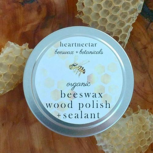 Organic Beeswax Wood Sealant and Furniture Polish - unscented - ()