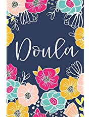 Doula: Lined Notebook Journal - Bright Floral Design