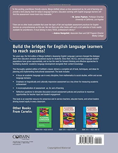 Assessing English Language Learners: Bridges to Educational Equity: Connecting Academic Language Proficiency to Student Achievement by Sage Publications Ltd