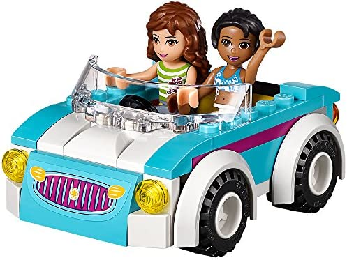 LEGO Friends - 41034 - Jeu De Construction - La Caravane Des Vacances