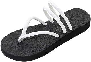 2019 Donna Sandali Pantofola, Pizzico Slipsole Piatto Scarpe Flip Flops Sandali Pantofola, Sandali Strass Im Angebot Sandali da donna