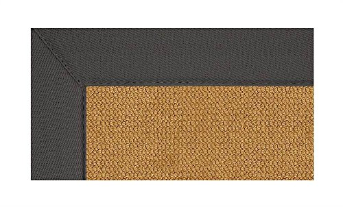 Linon 11 ft. x 8 ft. Athena Rug in Cork with Slate Border -