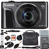Canon PowerShot SX720 HS 20.3MP Digital Camera 40x Optical Zoom and Built-in WiFi/NFC (Advanced Kit, Black) -  ZeeTech