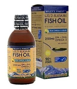 Wileys finest wild alaskan fish oil peak for Wild alaskan fish oil