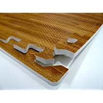 Wood Grain Interlocking Foam Flooring