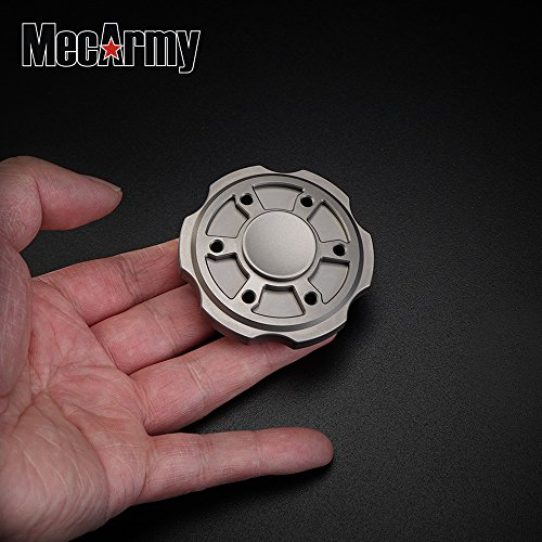 Mecarmy GP3 round version Titanium Fidget Spinner, relax Game, Hand Excise, Relieves Stress and Anxiety (sandblasted) by MeCarmy (Image #7)
