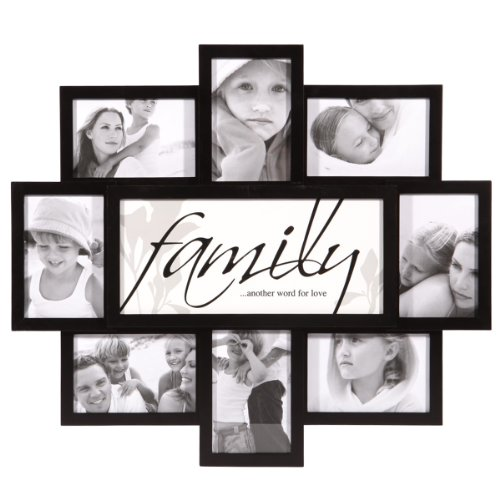 amazoncom nexxt pn19663 8 felicite series black collage frame family