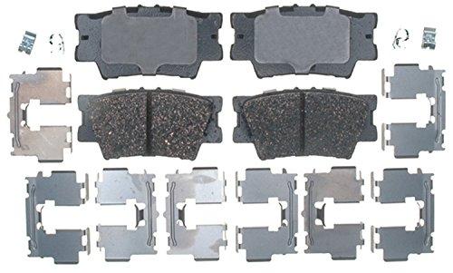 Brake Toyota Camry (ACDelco 17D1212CH Professional Ceramic Rear Disc Brake Pad Set)