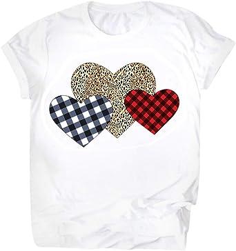 Camiseta día de San Valentín de Mujer y Hombre,ZODOF ...