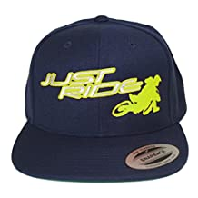 Just Ride Back It In Supermoto Motocross Hat Flat Bill Snapback