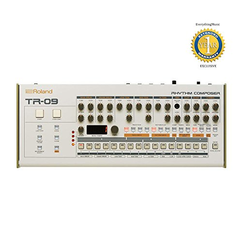 Roland TR-09 Boutique Rhythm Performer with 1 Year Free Extended Warranty by Roland