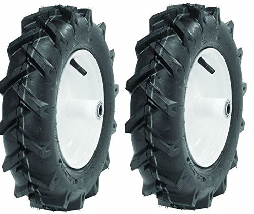 Troy-Bilt/MTD Tiller Tires 4.80-8 Set of 2 (Part # 1234-1) Note picture is a stock picture this listing is for tires only no rims