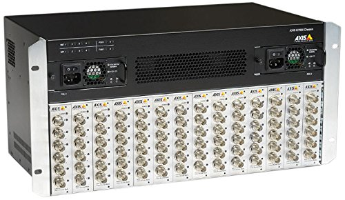 Axis Communications 0575-004 High-Density Rack Mount Video Encoder Chassis for Security Systems by Axis Communications