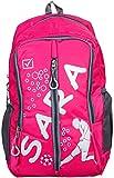 Sara Polyester 25 Ltrs Pink School Bag