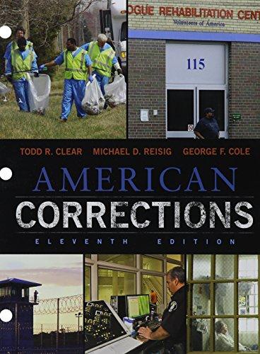 Bundle: American Corrections, Loose-Leaf Version, 11th + MindTap Criminal Justice, 1 term (6 months) Printed Access Card