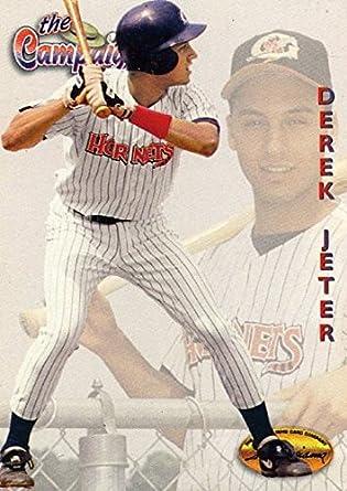 Amazoncom 1994 Ted Williams 124 Derek Jeter Rookie Card New York