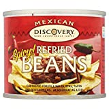 Santa Maria Mexican Refried Beans Spicy (215g) - Pack of 6