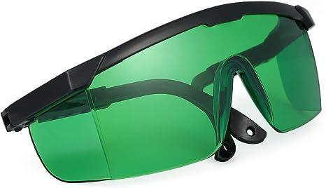 Q-BAIHE 340/nm-1250nm laser occhiali occhiali di protezione blu violetto chiaro filtro occhiali incisione laser goggles