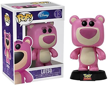 Amazon Com Funko Pop Toy Story Lotso Bear Vinyl Bobble Head Toys
