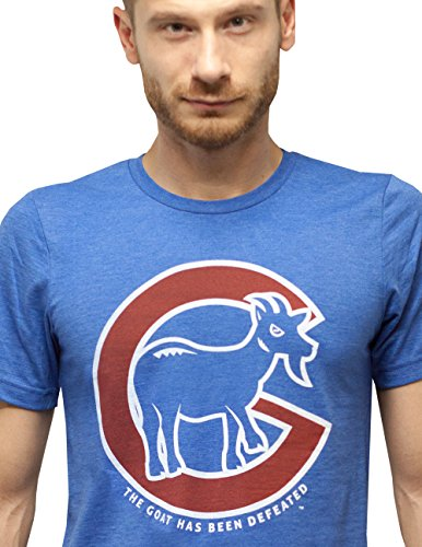 SCOBAR Billy Goat Has Been Defeated (M) Chicago Cubs Shop