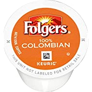 Folgers 100% Colombian Coffee, Medium Roast, K-Cup Pods for Keurig K-Cup Brewers, 36 Count
