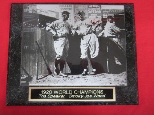Wood Baseball Plaque - 6
