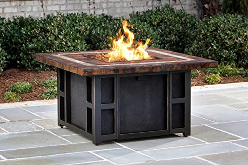 Ice Cooler Carts Goldie's Square Fire pit Slate Table for sale  Delivered anywhere in USA