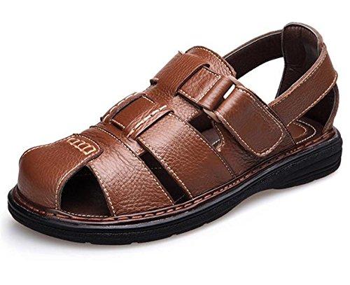 すき絶対の衝突コースWUIWUIYU  メンズ スポーツ サンダル 紳士靴 つま先保護 耐久性 履き心地良い 柔らかい 滑り止め 通勤靴