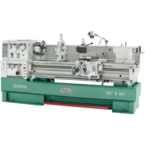3-Phase Big Bore Metal Lathe, 20 x 60-Inch - Grizzly G0600