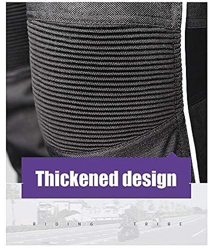 DishKooker Women Motorcycle Jacket /& Pants Suit Keep Warm Winter Touring Motorbike Clothing Protective Gear ( purple;XL )