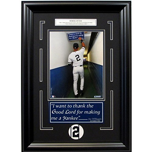 derek-jeter-tapping-the-sign-8x10-framed-photo-collage-i-want-to-thank-the-good-lord-for-making-me-a