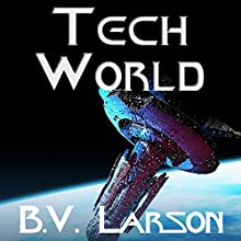Tech World: Undying Mercenaries, Book 3 Audiobook by B. V. Larson Narrated by Mark Boyett