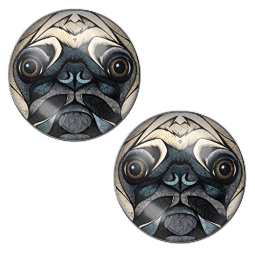 LilMents-Pug-Dog-Face-Mens-Womens-Stainless-Steel-Stud-Earrings