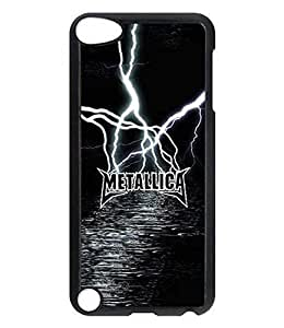 Metallica Band Design Phone Case For Ipod Touch 5th Genaration Band Logo Image Lightweight Slim Hard Shell For Women Inspired Pattern