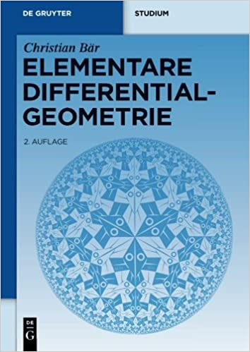 Elementare Differentialgeometrie (de Gruyter Lehrbuch) (German Edition) by Christian B????r (2010-01-29)
