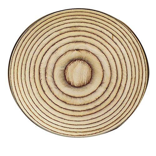 """LiPing 23.6"""" Wood Grain Kids Play Round Carpet Stair Treads- Non Slip/Skid Rubber Runner Mats Or Rug Tread-Indoor Outdoor Pet Dog Stair Treads Pads (I) from LiPing"""