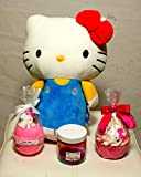 Hello Pretty Kitty Collection || Bath Bombs || Sugar Scrubs || FREE HELLO KITTY DOLL