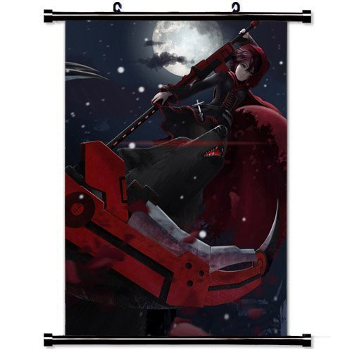 Home Decor Japanese cartoon Art Cosplay Poster with Ruby Ros