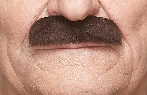 Mustaches Self Adhesive, Novelty, Fake, Value Pack (6pcs.) by Mustaches (Image #6)