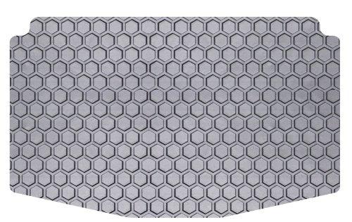 intro-tech HexomatカスタムフィットCargoエリアフロアマットポルシェケイマンSの選択モデル – rubber-like複合(グレー)B00UZ24HO8--