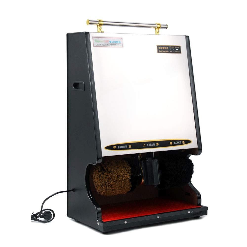 BLWX - Shoe Polisher-Automatic Induction Shoe Polisher, Household Electric Shoe Polisher/Hotel Business Shoe Polisher Electric Shoe polishing Machine (Color : C, Size : 1#)